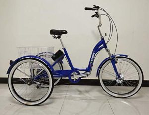 E-Bike Dreirad E-Scout Elektro-Dreirad