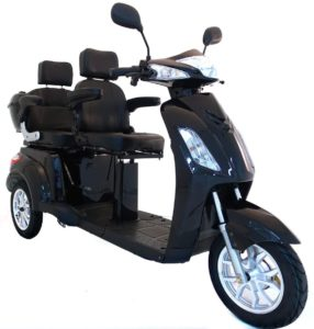 Elektromobil VITA CARE 2000 Seniorenmobil Senioren-Scooter mit Straßenzulassung E-Scooter E-Roller