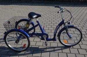 E-Bike Dreirad Lanztec Elektrodreirad LiIon Akku
