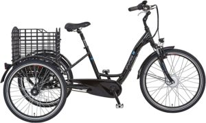 E-Bike 3 Rad Prophete Unisex – Erwachsene Cargo 3R 20.ESL.10 E-Bike