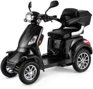VELECO Seniorenmobil 4-Rad Elektromobil ElektroRoller 1000W FASTER