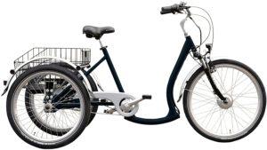 E-Bike 3 Rad Wild Eagle Dreirad Elektro Deluxe