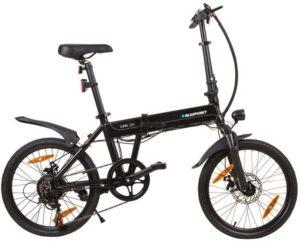 E-Bike günstig Blaupunkt Carla 180-16 Zoll faltbares Pedelec, E-Bike, Elektrofahrrad - 13,8 kg, 250 Watt