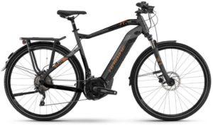 Premium E-Bike HAIBIKE Sduro Trekking 6.0 Pedelec E-Bike Fahrrad grau/schwarz/bronzefarben