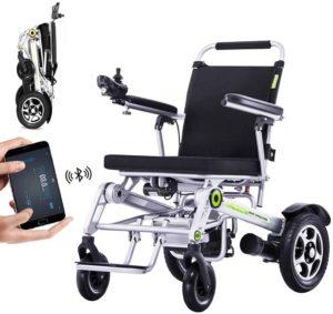 Elektrorollstuhl Wheel-hy Vollautomatischer Elektrischer Rollstuhl Faltbar - Elektrorollstuhl mit APP-Steuerung