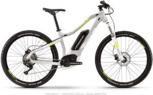 Premium E-Bike HAIBIKE Sduro HardSeven Life 4.0 27.5'' Damen Pedelec E-Bike MTB grau/gelb 2019