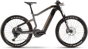 HAIBIKE XDURO AllTrail 6.0 Flyon Elektro Bike 2020 (L/50cm, Carbon/Titan/Bronze)