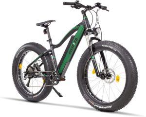 Fitifito FT26 Elektrofahrrad Fatbike E-Bike Pedelec, 36V/48V 250W Heckmotor, 36V/48V 13Ah 468W/624W Samsung Akku, Kenda 26 x 4,0 MTB Reifen