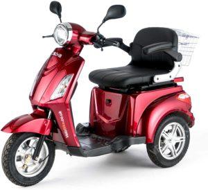 VELECO Dreirad ElektroRoller E-Scooter Elektromobil 25 km/h 900W 3 Rad Seniorenfahrzeug Seniorenmobil ZT15